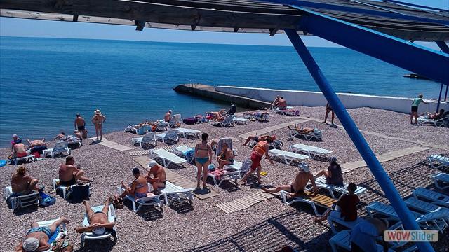 Гурзуф фото набережной и пляжа